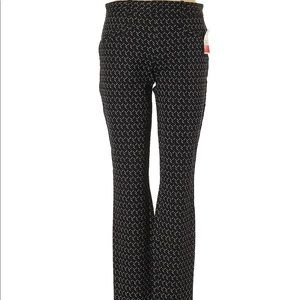 Gap Black/White Printed Pants 4